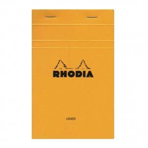 Rhodia A6 105x148 Çizgili Bloknot Turuncu kp 13600