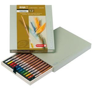 Bruynzeel Design Pastel Kalem 12li B8840h12