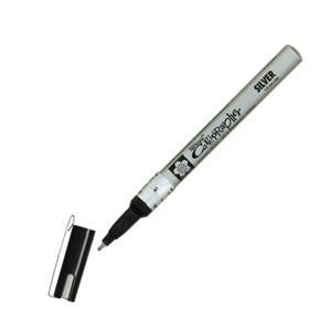 Sakura Pen-Touch Kaligrafi Kalemi 1.8mm Gümüs C#53