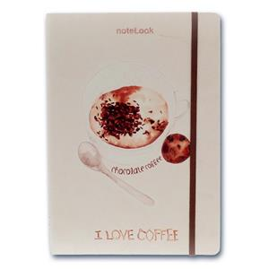 Scrikss I Love Chocolate Coffee A6 100 Yp. Çizgili