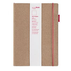 Sensebook Red Rubber L A4 Düz Defter 75020400