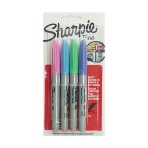 Sharpie Fine Permanent Markör 3+1 S0835410