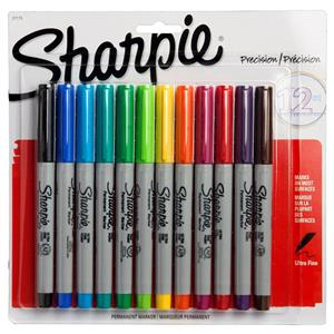 Sharpie Ultra Fine Permanent Markör 12li S0941891