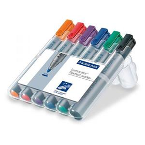 Staedtler Lumocolor Flipchart Markör 6'Lı 356 WP6