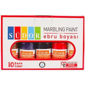 Südor Ebru Boyası Set 10x25 ml