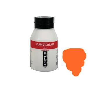 Talens Amsterdam Acrylicboya 500ml Azo Orange