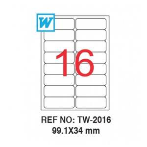 Tanex Tw-2016 99.1 X 34 Mm Laser Etiket