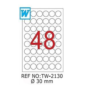 Tanex Tw-2130 30 Mm Laser Etiket
