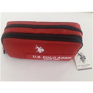 U.S.Polo Assn. Kalem Çantası Kırmızı-Siyah SPLKLK20011