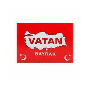 Vatan Vt-207 100x150 Türk Makam Bayragi Simli