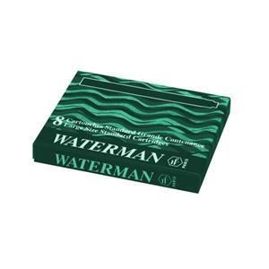 Waterman Kartus 8 Li Yesil