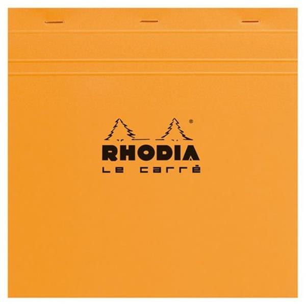 Rhodia 210x210 Kareli Bloknot Turuncu Kapak 210200