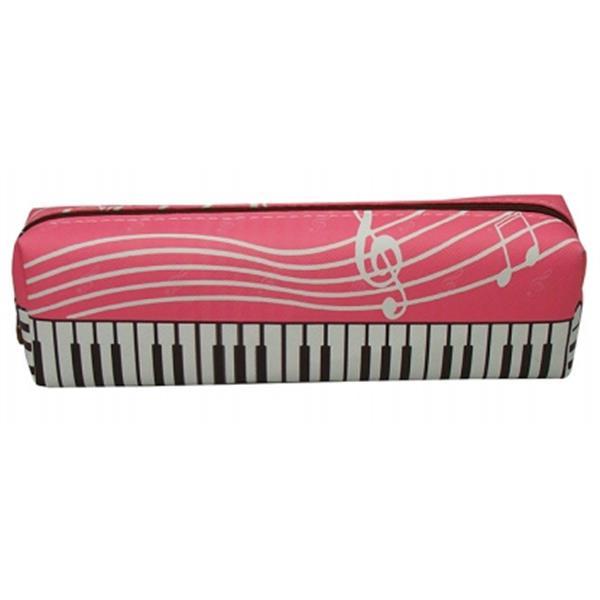 Taros Vintage Piyano Desenli Kalem çantası 2676 Dolma Kalem
